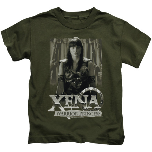 Image for Xena Warrior Princess Kids T-Shirt - Honored