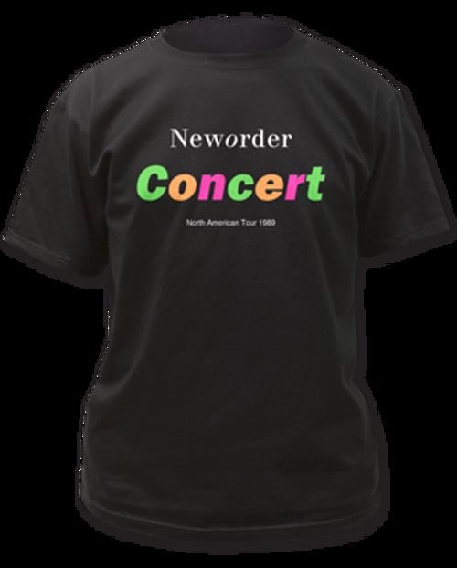 Image for New Order Concert T-Shirt