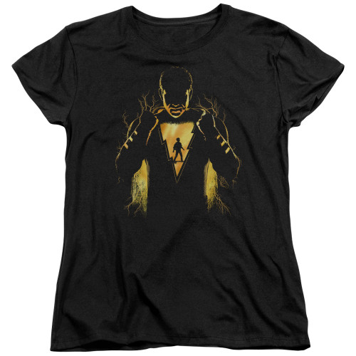 Image for Shazam Movie Womans T-Shirt - What's Inside