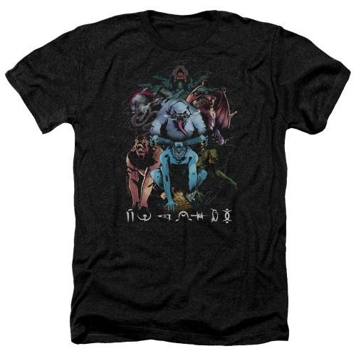 Image for Shazam Movie Heather T-Shirt - Sins
