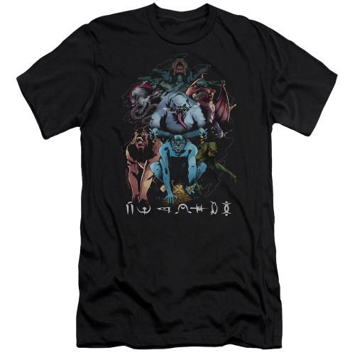 Image for Shazam Movie Premium Canvas Premium Shirt - Sins