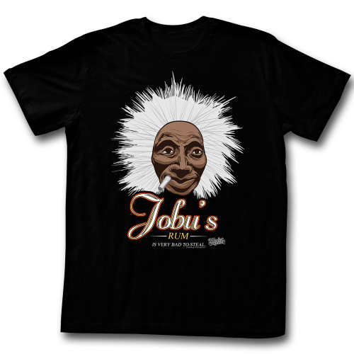 Image for Major League T-Shirt - Jobu's Rum is Very Bad to Steal