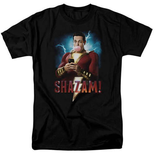 Image for Shazam Movie T-Shirt - Blowing Up