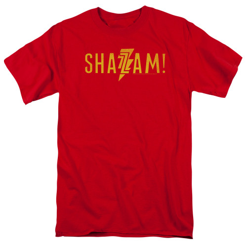 Image for Shazam Movie T-Shirt - Flat Logo