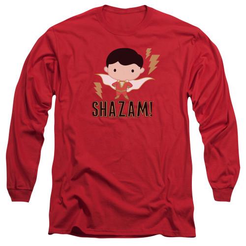 Image for Shazam Movie Long Sleeve Shirt - Chibi