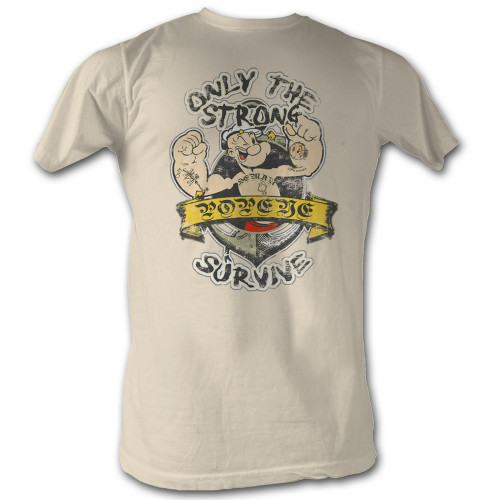 Image for Popeye T-Shirt - Only the Strong