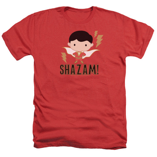 Image for Shazam Movie Heather T-Shirt - Chibi