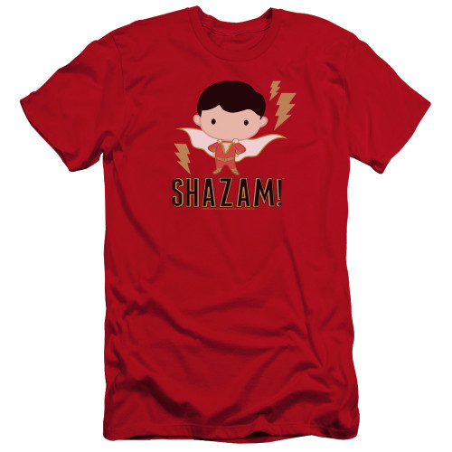 Image for Shazam Movie Premium Canvas Premium Shirt - Chibi