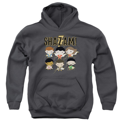 Image for Shazam Movie Youth Hoodie - Chibi Group