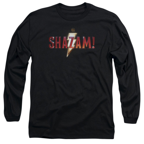 Image for Shazam Movie Long Sleeve Shirt - Logo