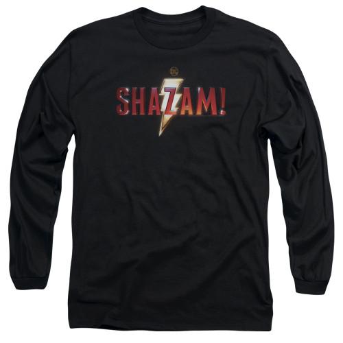 Image for Shazam Movie Long Sleeve Shirt - Logo