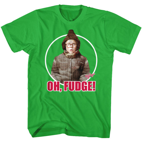 Image for A Christmas Story T-Shirt - Raphie Oh Fudge!