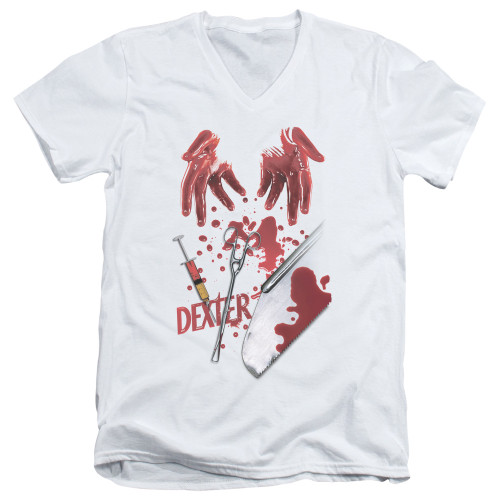 Image for Dexter T-Shirt - V Neck - Tools of the Trade