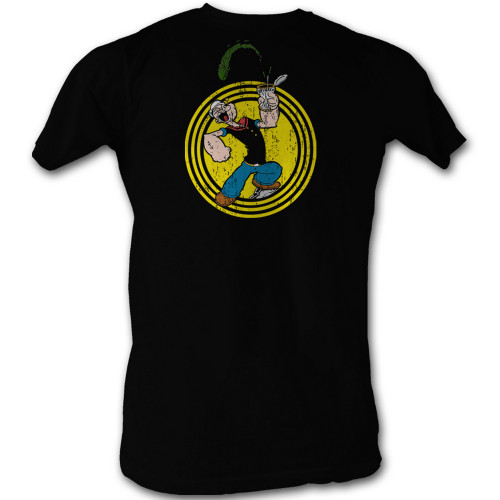 Image for Popeye T-Shirt - Spinach Circle