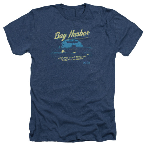 Image for Dexter Heather T-Shirt - Moonlight Fishing