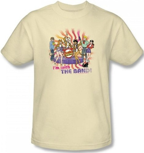 Image for Josie and the Pussycats With the Band T-Shirt