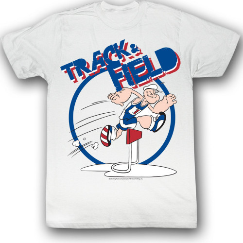 Image for Popeye T-Shirt - Track & Field