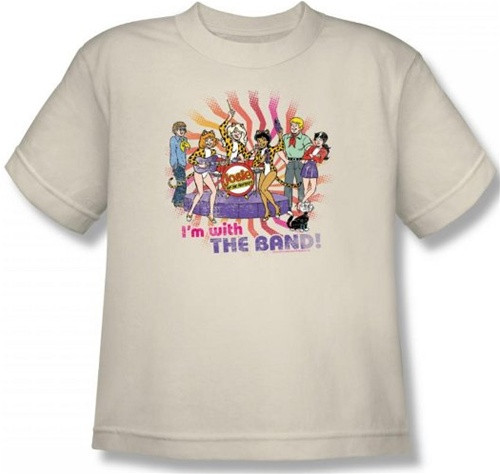 Image for Josie and the Pussycats With the Band Youth T-Shirt