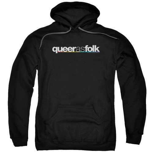 Image for Queer as Folk Hoodie - Logo
