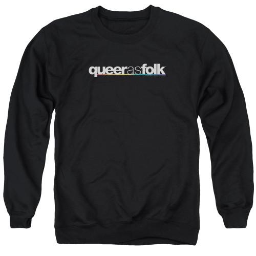 Image for Queer as Folk Crewneck - Logo