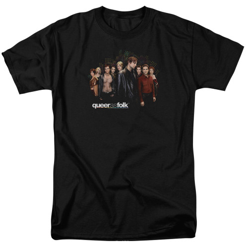 Image for Queer as Folk T-Shirt - Title