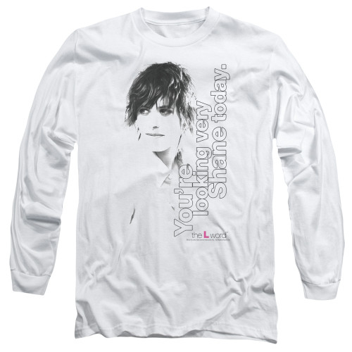 Image for The L Word Long Sleeve T-Shirt - Looking Shane Today