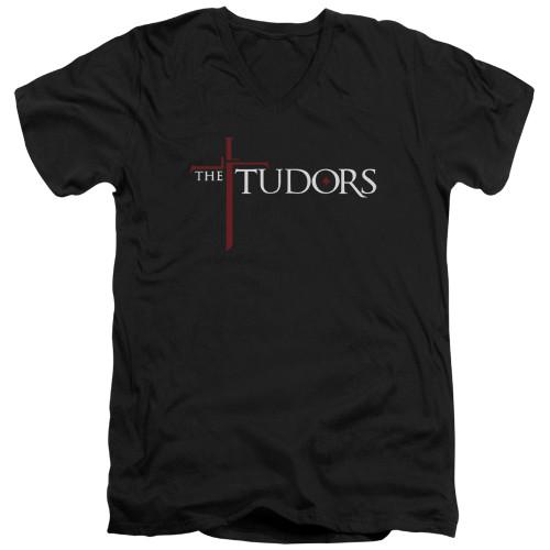 Image for The Tudors T-Shirt - V Neck - Logo