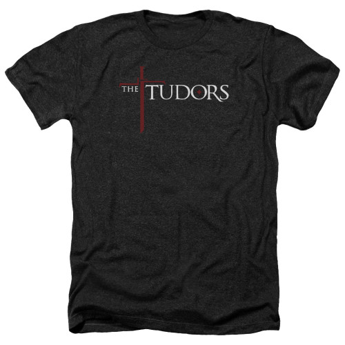 Image for The Tudors Heather T-Shirt - Logo