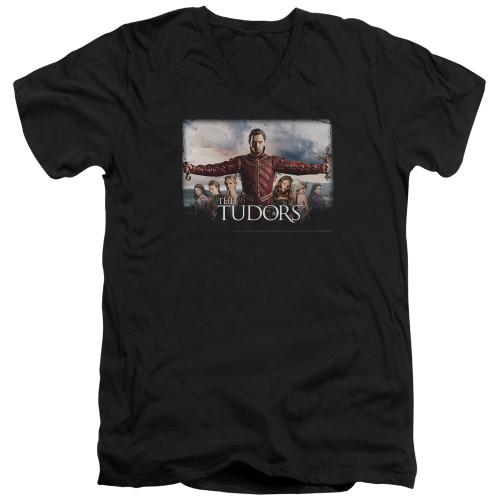 Image for The Tudors T-Shirt - V Neck - The Final Seduction