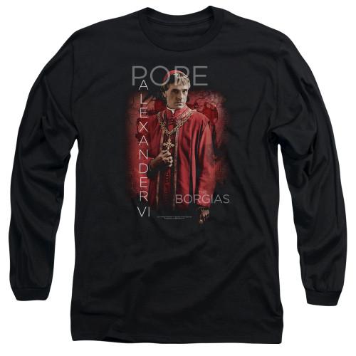 Image for The Borgias Long Sleeve T-Shirt - Pope Alexander VI