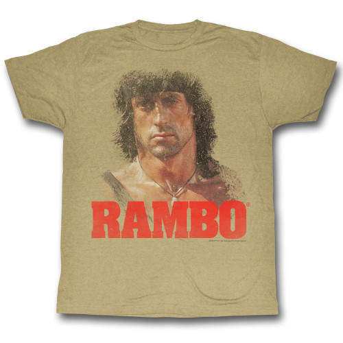 Image for Rambo T-Shirt - Grunge