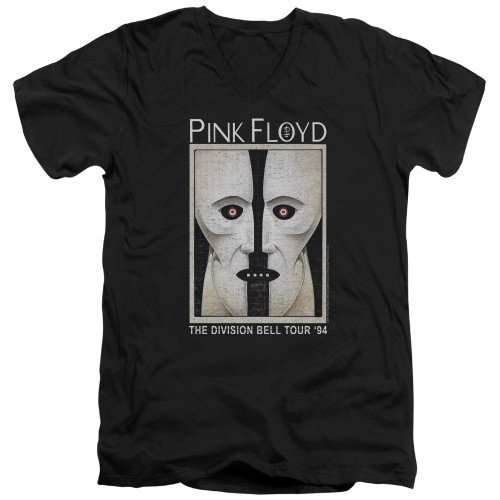 Image for Pink Floyd V-Neck T-Shirt The Division Bell