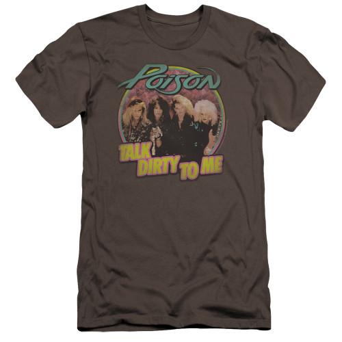 Image for Poison Premium Canvas Premium Shirt - Dirty Talk