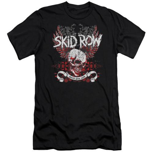 Image for Skid Row Premium Canvas Premium Shirt - Winged Skull
