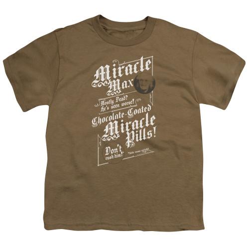 Image for The Princess Bride Youth T-Shirt - Miracle Max