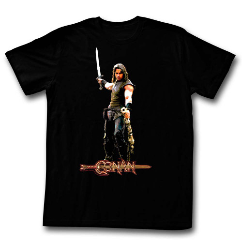 Image for Conan the Barbarian T-Shirt - It's a Weasel?