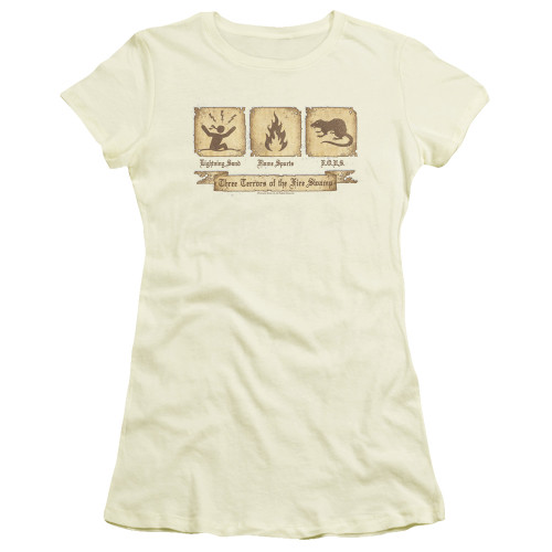 Image for The Princess Bride Girls T-Shirt - Three Terrors of the Fire Swamp