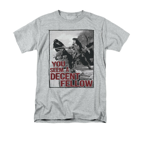 Image for The Princess Bride T-Shirt - You Seem a Decent Fellow
