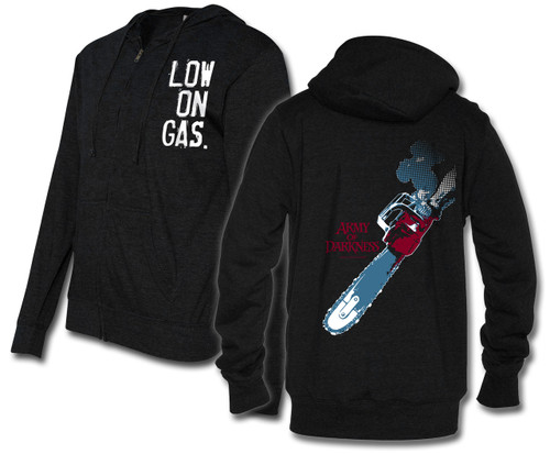 Image for Army of Darkness Hoodie - Low on Gas