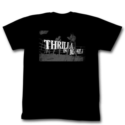 Image for Muhammad Ali T-Shirt - Thrilla in Manila