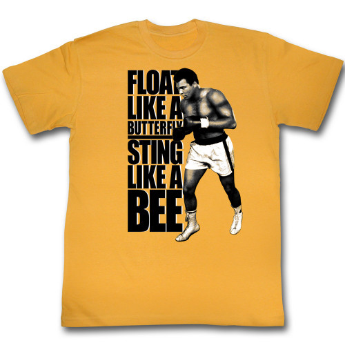 Image for Muhammad Ali T-Shirt - Sting Like a Bee
