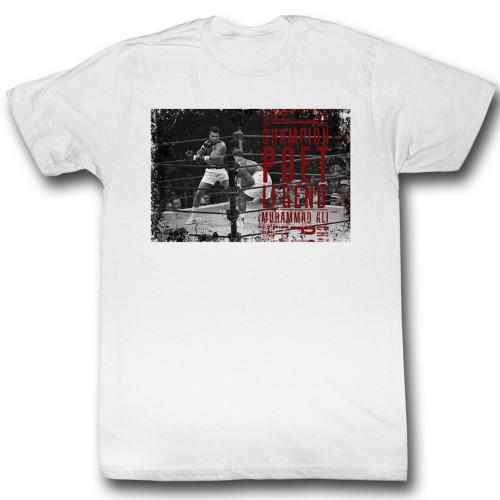 Image for Muhammad Ali T-Shirt - All Poet