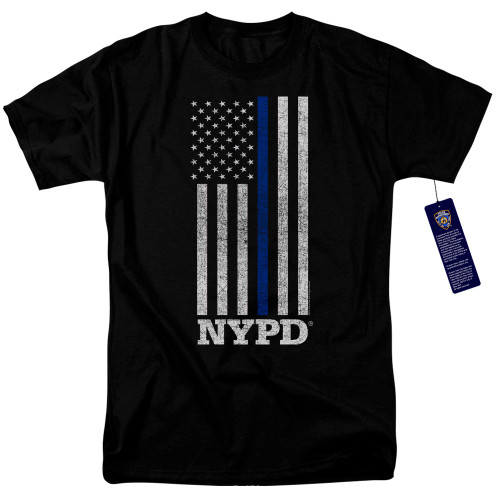Image for New York City T-Shirt - Thin Blue Line