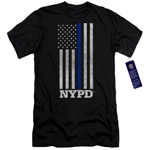 Image for New York City Premium Canvas Premium Shirt - Thin Blue Line