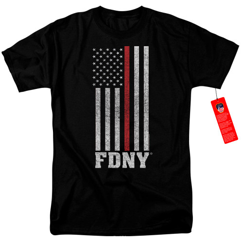 Image for New York City T-Shirt - Thin Red Line