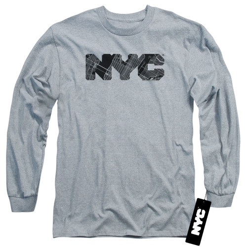 Image for New York City Long Sleeve Shirt - MAP Fill