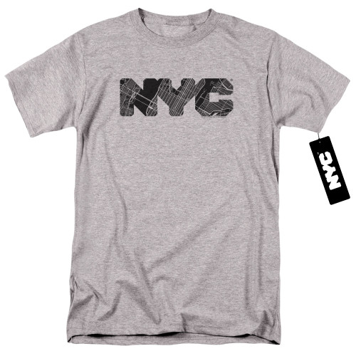 Image for New York City T-Shirt - MAP Fill