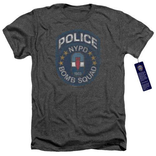 Image for New York City Heather T-Shirt - Bomb Squad