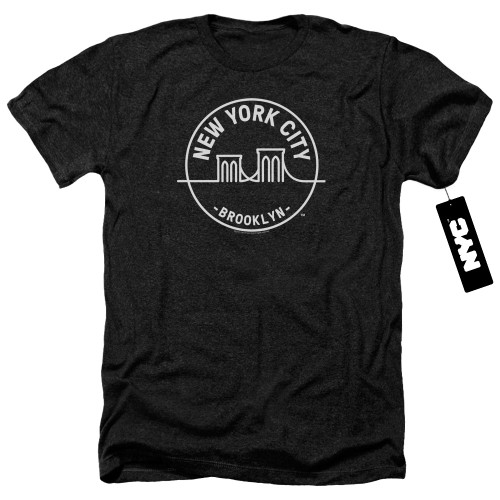 Image for New York City Heather T-Shirt - See NYC Brooklyn