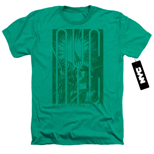 Image for New York City Heather T-Shirt - Liberty